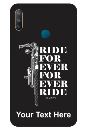 Vivo U10 - Ride Forever Designer - Mobile Phone Cover