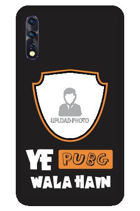 Vivo Z1x - Ye PubG Wala Hain Designer - Mobile Phone Cover