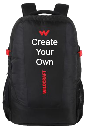 Create Your Own Wildcraft Trident XL Laptop Backpack