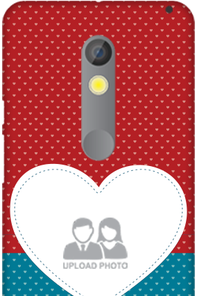 Motorola Moto X Play Colorful Heart Valentine's Day Mobile Cover