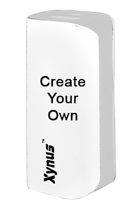 Xynus Pocket Power Bank 2200 Mah White With Silver
