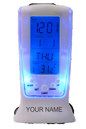 Digital Clock With Calendar And Alarm