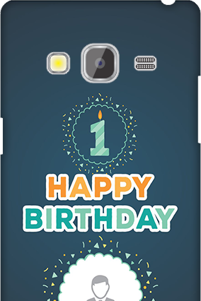 Samsung Galaxy Z3 Birthday Wishes Mobile Cover