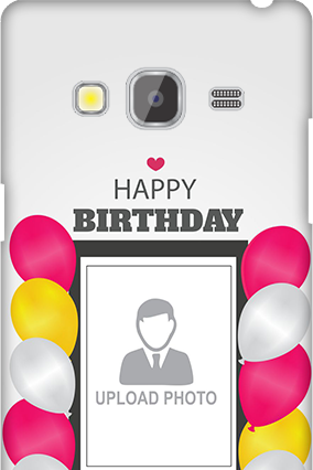 Samsung Galaxy Z3 Birthday Greetings Mobile Cover