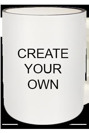 Create Your Own Zebra Handle Mug