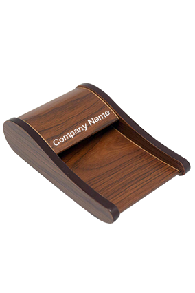 Wooden Visiting card holder ZS 09